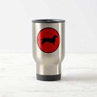 back doxie circle travel mug