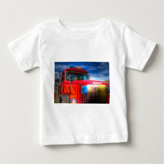 Back Draft Fire Truck Baby T-Shirt