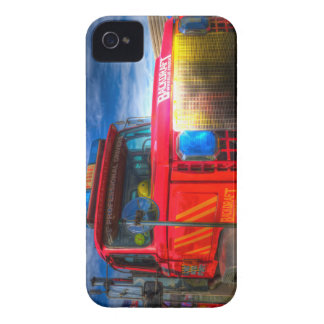 Back Draft Fire Truck iPhone 4 Case-Mate Case