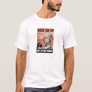 Back 'Em Up -- General Eisenhower T-Shirt