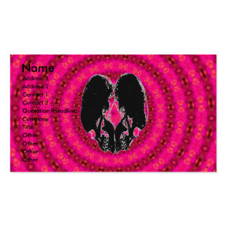 Back Heart Hypnosis Pack Of Standard Business Cards
