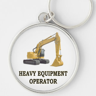 BACK HOE KEY RING