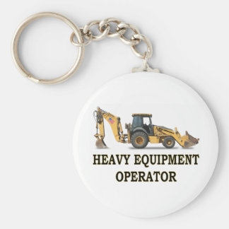 BACK HOE LOADER KEY RING