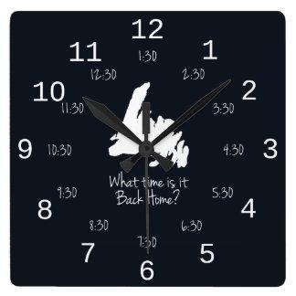 Back Home Time - EST edition Clocks