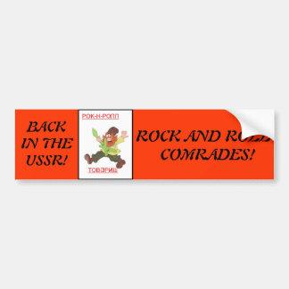 Back in the USSR Bumper Sticker