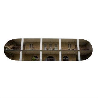 Back Of Crescent Hotel 19.7 Cm Skateboard Deck