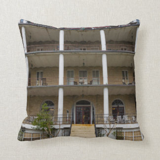 Back Of Crescent Hotel Cushion