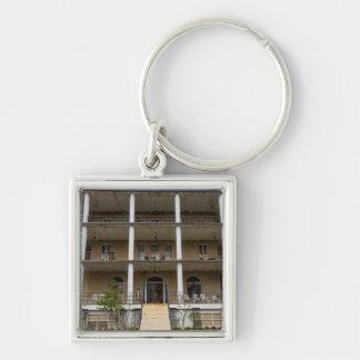 Back Of Crescent Hotel Key Ring