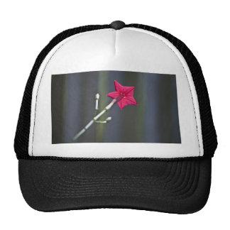 Back Of Flower Trucker Hat
