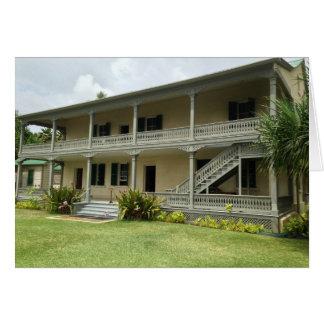 Back of Hulihe'e Palace, Kailua-Kona, Hawaii Card