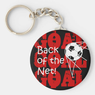 Back Of The Net! Key Chain