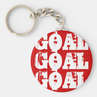 Back Of The Net! Keychain