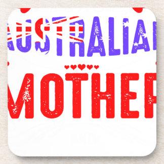 Back Off Crazy Australian Mother Not Afraid Use Beverage Coasters