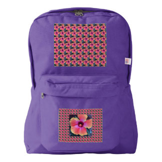 Back pack with flower power!