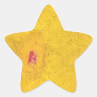 Back Page Star Sticker