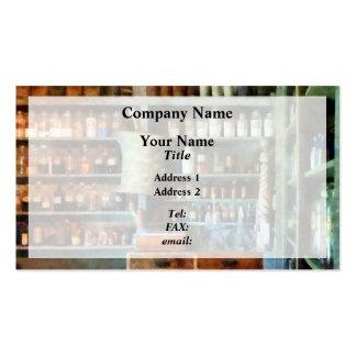 Back Room of Drug Store Pack Of Standard Business Cards
