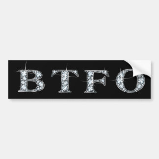 Back The F* Off Bumper Sticker