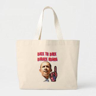 Back To Back,President Barack Obama_ Tote Bags