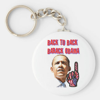 Back To Back,President Barack Obama_ Key Chain