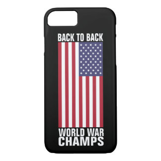 Back to Back World War Champs iPhone 7 Case