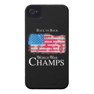 Back to Back World War Champs -.png iPhone 4 Case-Mate Case