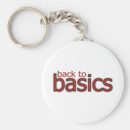 Back to basics! keychain