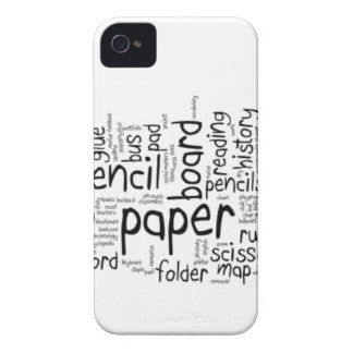 Back to School 1 iPhone 4 Cases