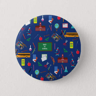 Back to School 6 Cm Round Badge