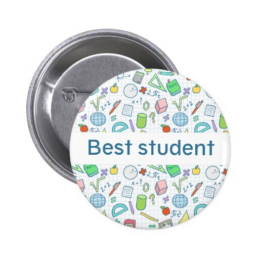 """Back to school: """"Best student"""" button (editable)"""