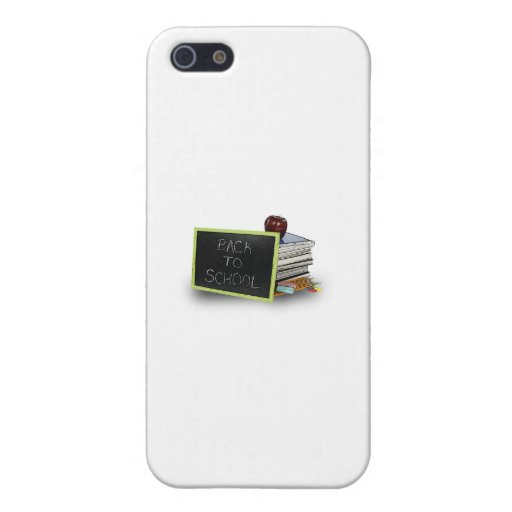 Back to school books iPhone 5 covers