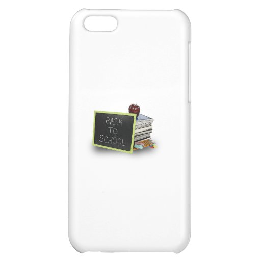 Back to school books cover for iPhone 5C