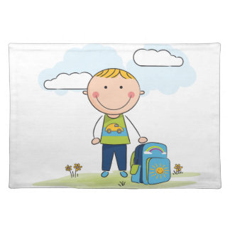 Back to school Boy Place Mat