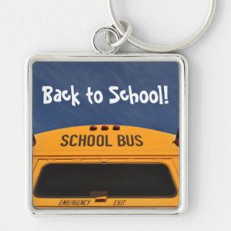 Back to School Bus Key Ring