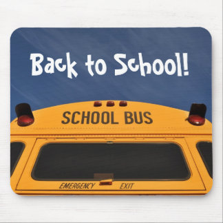 Back to School Bus Mouse Pad