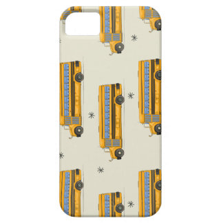 Back to school bus pattern iPhone 5 cases