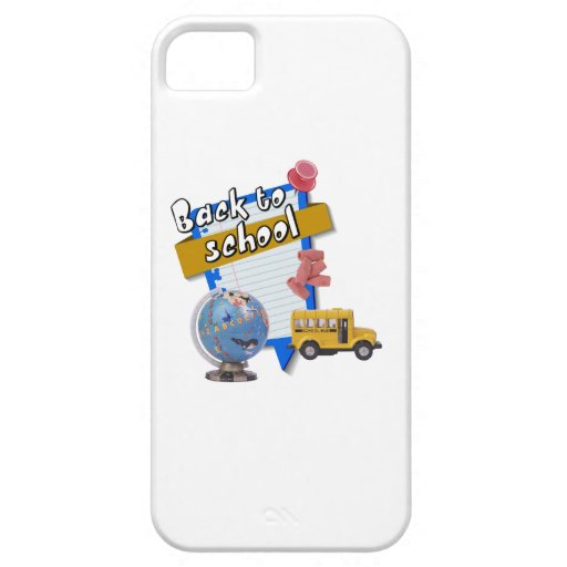 Back to School iPhone 5/5S Case