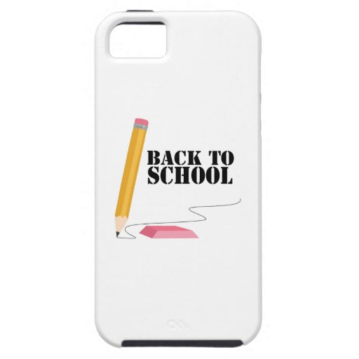 Back To School iPhone 5/5S Cases