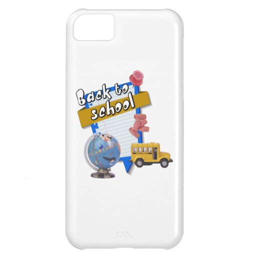 Back to School Case For iPhone 5C