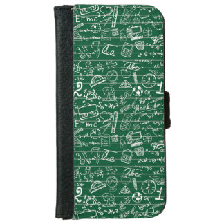 Back to School Collage iPhone 6 Wallet Case