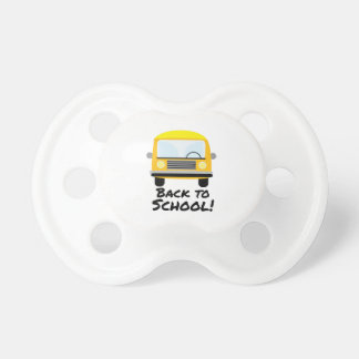 Back To School Baby Pacifiers
