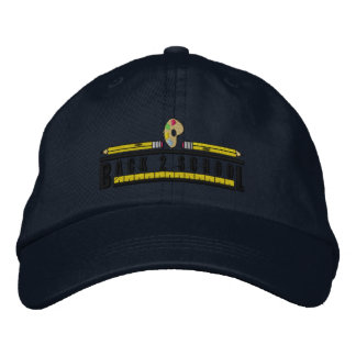 Back To School Embroidered Hat
