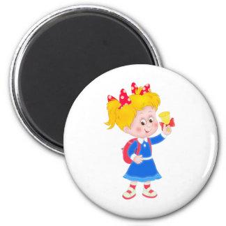 Back to school girl magnet