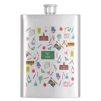 Back to School Hip Flask