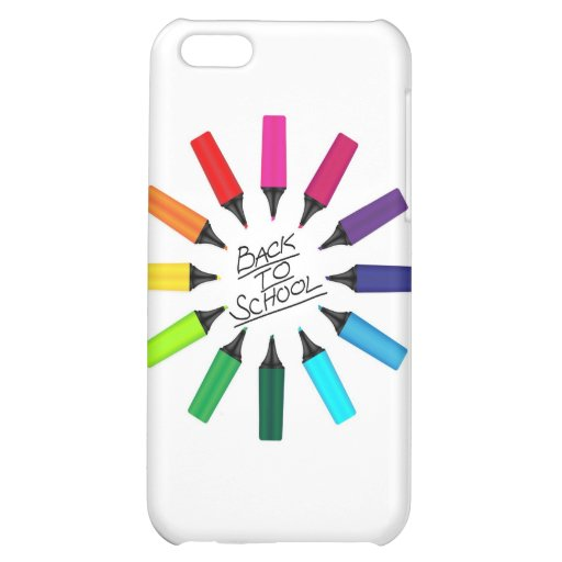 Back To School iPhone 5C Cover