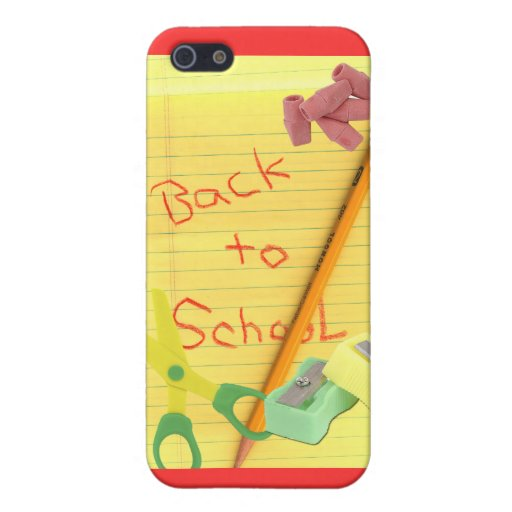 Back-to-School Case For iPhone 5