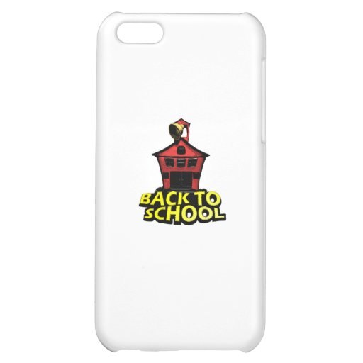 Back to school cover for iPhone 5C