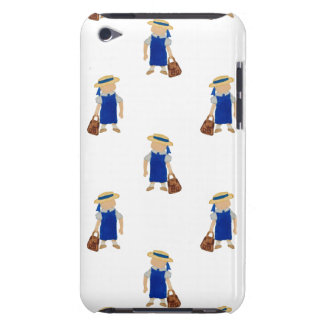 Back to School Pattern of Painted School Girls iPod Touch Cases