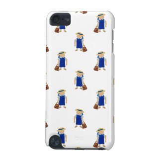 Back to School Pattern of Painted School Girls iPod Touch 5G Cases