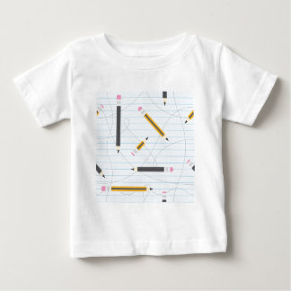 Back to School Pencils Baby T-Shirt