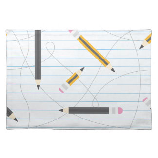 Back to School Pencils Placemat
